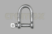 Cromox dee shackle Grade 50 stainless steel
