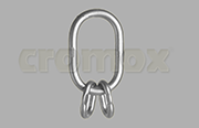 Multi Master link for 3 and 4 legs links Grade 50 stainless steel