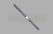 Stainless Steel Swage Stud with Lag Screw