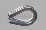 Stainless Steel heavy duty wire rope thimble