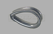 Stainless Steel closed heavy duty wire rope thimble