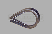 Stainless Steel wire rope thimble light weight
