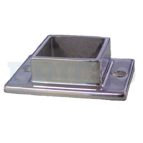 Base Plate Flange With Oblong Base 2