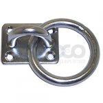 Eye Plate with Ring Grade 304