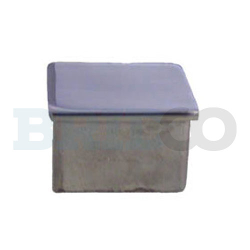 Flat Topped Square End Cap