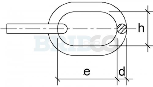 Load Rated Stainless Steel Proof Coil Chain diagram
