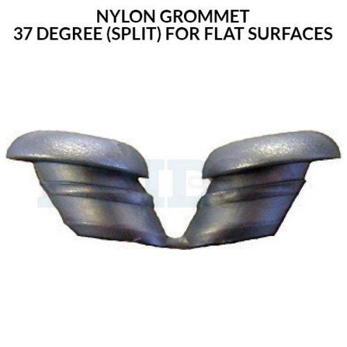 Nylon Grommet 37 degree split for flat surfaces