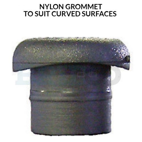 Nylon Grommet to suit curved surfaces