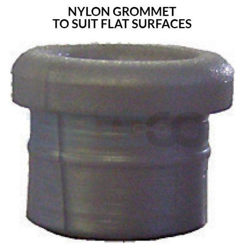 Nylon Grommet to suit flat surfaces
