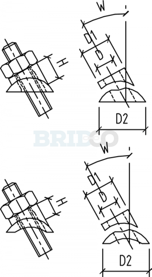 Stainless Steel Adjustable Angles diagram