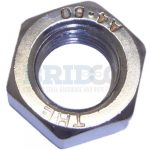 Stainless Steel Nut and Threaded Rod
