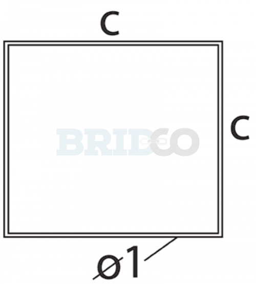 Stainless Steel Tube Square diagram