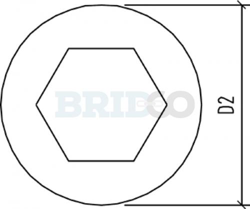 Tensioner Allen Key Head diagram