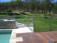 Glass pool fence fittings