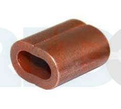 Copper sleeve for hand swaging