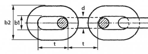 cromox Conveyor Chain diagram