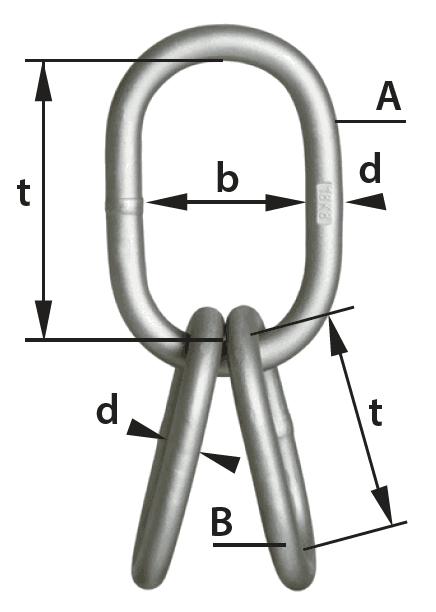 cromox Multi Master Link for Ropes diagram