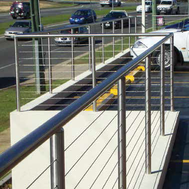 stainless steel wire rope for balustrades